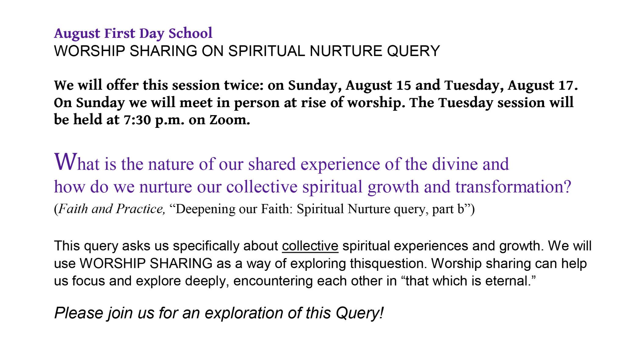 FDS Worship Sharing short final version (1)